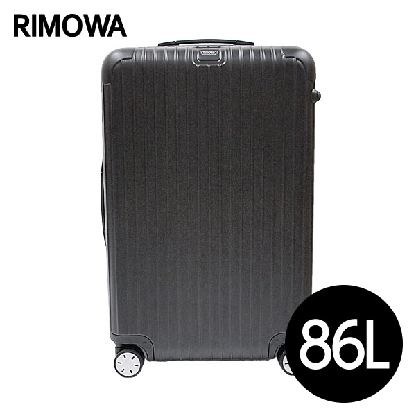RIMOWA リモワ サルサ 86L マットブラック SALSA 810.70.32.4【送料無料(一部地域除く)】