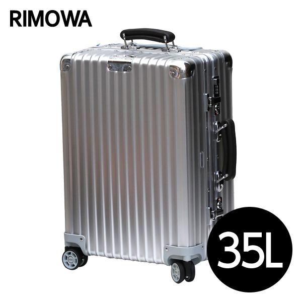 リモワ RIMOWA クラシックフライト CLASSIC FLIGHT キャビンマルチホイール 35L シルバー スーツケース 971.53.00.4【送料無料(一部地域除く)】