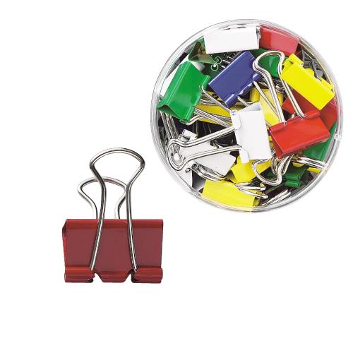 18%OFF 品質向上 価格は大幅値下げ ダブルクリップ クリップ 事務用品 文房具 雑貨 小 80個 お金を節約 カラーミックス 19mm オリジナル商品 文具 40個×2ケース