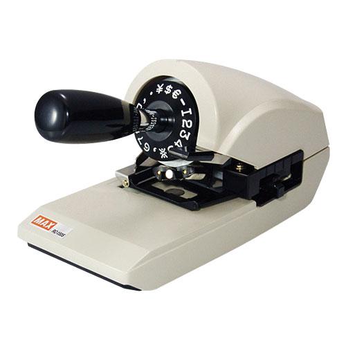 マックス MAX ロータリーチェックライター RC-150S【代引不可】【送料無料(一部地域除く)】