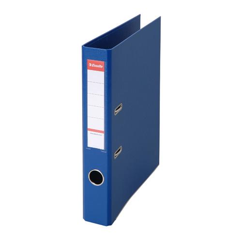 エセルテ BU5670 レバーアーチファイル 10冊セット A4タテ 背幅52mm 青【送料無料(一部地域除く)】