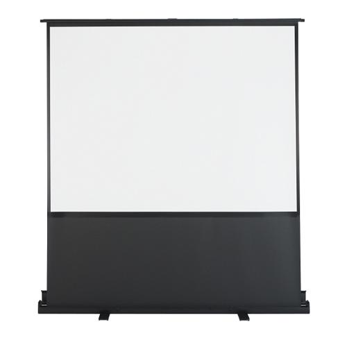プラス フロアタイプスクリーン 80型 フロアタイプ パンタグラフ式/自立式タイプ FS-80 【代引不可】【送料無料(一部地域除く)】