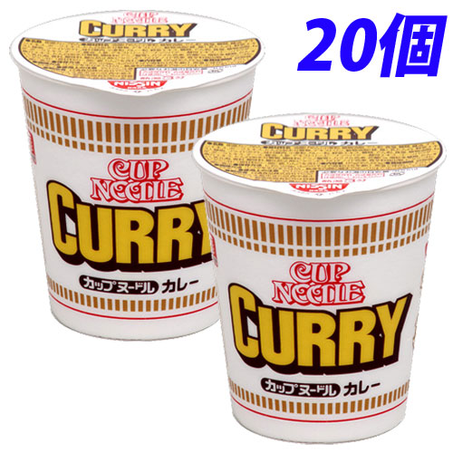 Nissin foods Curry noodle 20 pieces