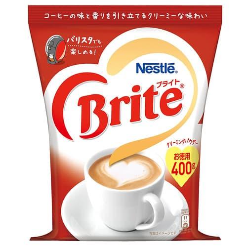 ブライトはコーヒー本来の味と香りを引き立てます ネスレ 定価 限定品 400g ブライト
