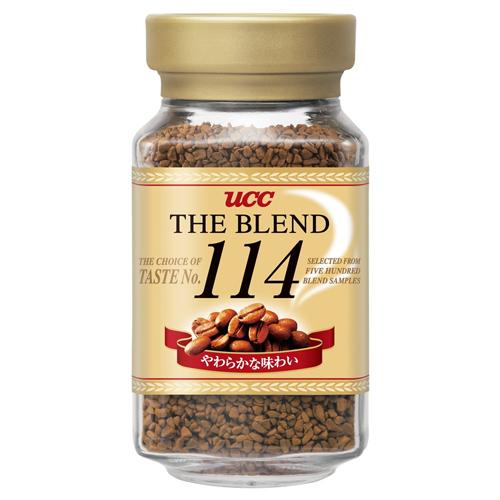 500種類のテイストから厳選されたやわらかな味わい UCC 激安通販ショッピング ザ ブレンド114 お見舞い 90g瓶 おうちカフェ 粉 ドリップ コーヒー インスタント