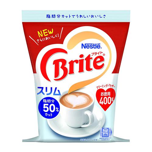 ブライトはコーヒー本来の味と香りを引き立てます ネスレ 格安店 ブライト スリム 400g 新色追加して再販