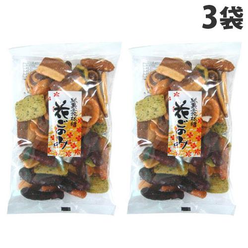 伝統の堅こね製法による香ばしい生地 実物 常盤堂 100g×3個 花ごのみ 商品追加値下げ在庫復活