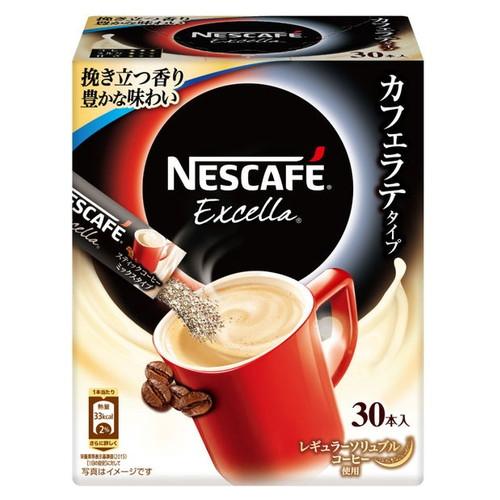 やや深煎りの豊かな香りと深いコク すっきりした後味です ネスカフェ エクセラ スティックコーヒー 安い 人気急上昇 珈琲 インスタントコーヒー カフェラテ 30P