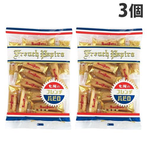 こんがり焼き上げた生地とクリームを合わせたお菓子です 七尾製菓 爆安プライス フレンチパピロ 90g×3個 卸売り