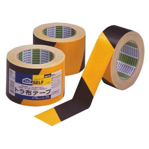 テープ 接着用具 作業用品 Seasonal Wrap入荷 DIY 工具 在庫処分 梱包 ガムテープ 50mm×25m ニトムズ 特殊テープ 布テープ トラ布テープ 粘着テープ