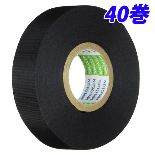 ニトムズ アセテート布粘着テープ No.5 40巻セット J7112 粘着テープ 絶縁 作業用品 DIY 【送料無料(一部地域除く)】