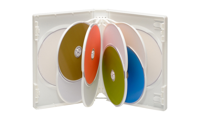 1個のケースに10枚のCD DVDケースが収納可能 大容量DVDトールケースです 限定Special Price DVDケース 10枚用 期間限定の激安セール 10枚セット 全3色 14ミリ