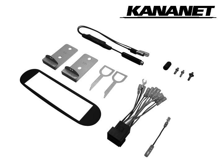 カナネット/KANANET UA-G95D VW ニュービートル用 カーAV取付キット