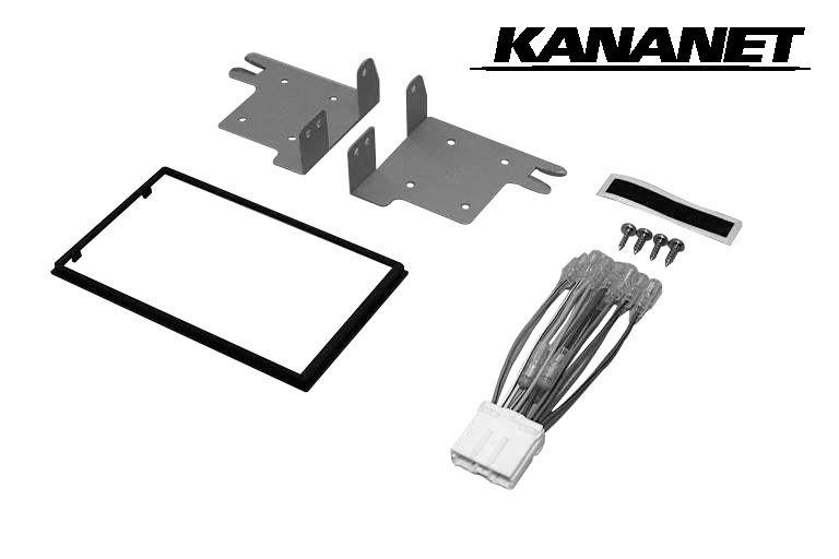 カナネット/KANANET UA-M36D 三菱 コルト/コルトプラス用 カーAV取付キット