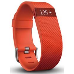 Fitbit 活動量計 FB405TAS-JPNウェアラブル活動量計・心拍計 charge HR Sサイズ タンジェリン【あす楽対応_関東】