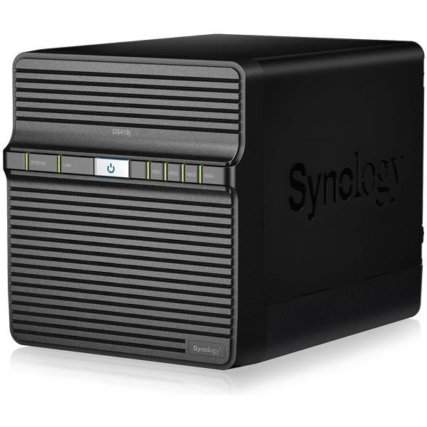シノロジー NAS DS418J DiskStation 64ビットデュアルコア搭載 4ベイ NASサーバー【あす楽対応_関東】【送料無料】