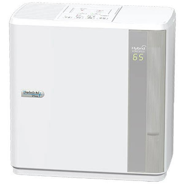 DAINICHI HD-7016 Wハイブリッド(温風気化+気化)式加湿器(木造12畳まで/プレハブ洋室19畳まで)ホワイト[HD7016W] 【あす楽対応_関東】【送料無料】【カード_OK】