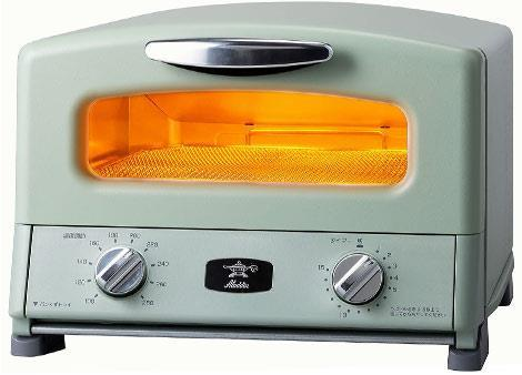 アラジン AGT-G13A G新グラファイト グリル&トースター 4枚焼き グリーン [AGTG13AG]【あす楽対応_関東】【送料無料】【カード_OK】