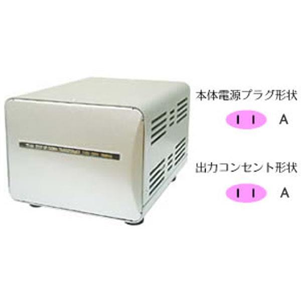 【あす楽対応_関東】カシムラNTI-149海外国内用大型変圧器 アップダウントランス (100V/110-130V)[4907986031492]