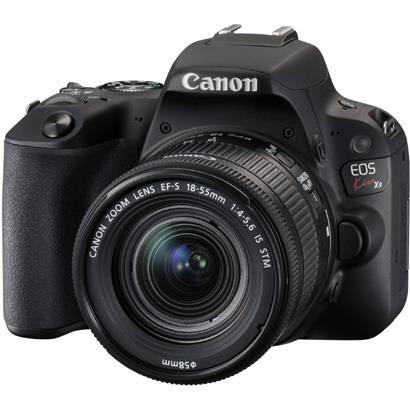 【あす楽対応_関東】【送料500円】CANON(キヤノン)EOS Kiss X9 EF-S18-55 IS STM レンズキット ブラック2420万画素 デジタル一眼カメラ