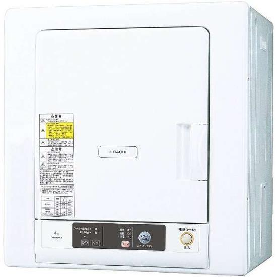 日立DE-N40WX W ピュアホワイト乾燥容量4kg 衣類乾燥機【_関東】【送料無料】