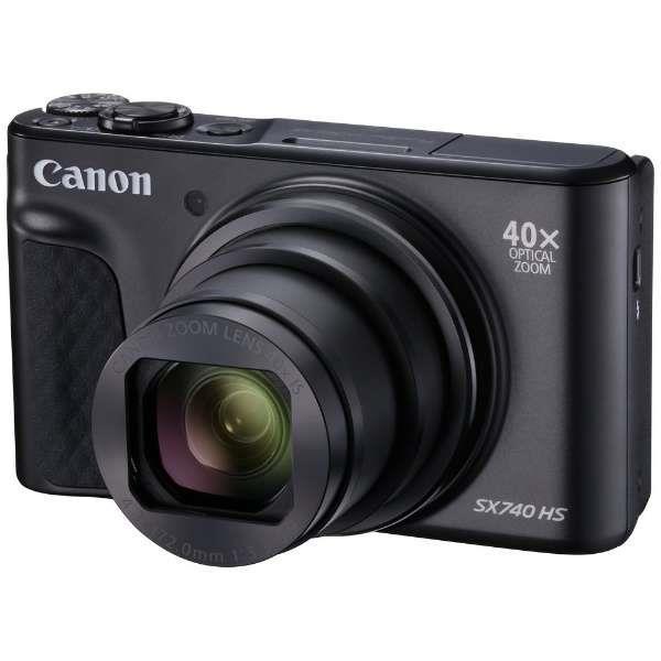キヤノンPowerShot SX740 HS ブラック2030万画素 デジタルカメラ[PowerShotSX740HSブラック]【あす楽対応_関東】【送料500円】