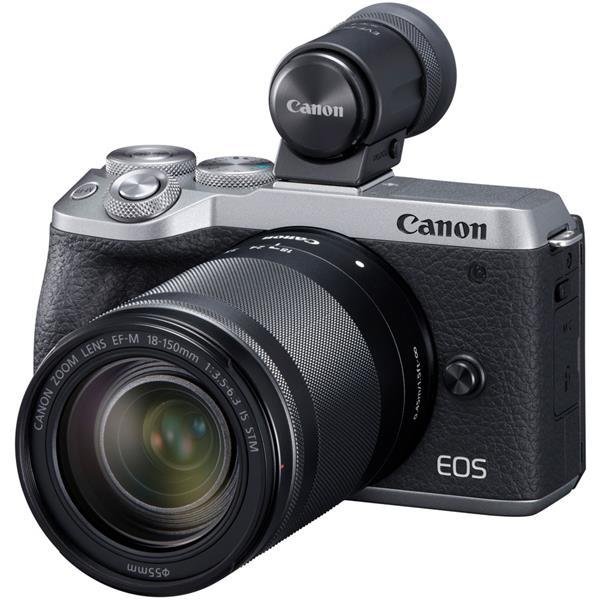 CANON(キヤノン)EOS M6 Mark II EF-M18-150 IS STM レンズEVFキット シルバー3250万画素 デジタル一眼カメラ【あす楽対応_関東】【 国内正規ルート品 】【送料無料】