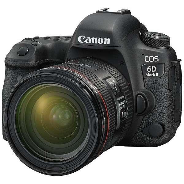 CANON(キヤノン)EOS 6D Mark II EF24-70 F4L IS USM レンズキット【国内正規品】2620万画素 デジタル一眼レフカメラ【あす楽対応_関東】【送料無料】