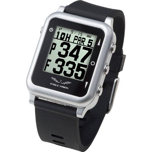 朝日ゴルフ用品腕時計型 GPSゴルフナビEAGLE VISION watch 4 EV-717 [ブラック][4981318442101]【あす楽_関東】【送料無料】