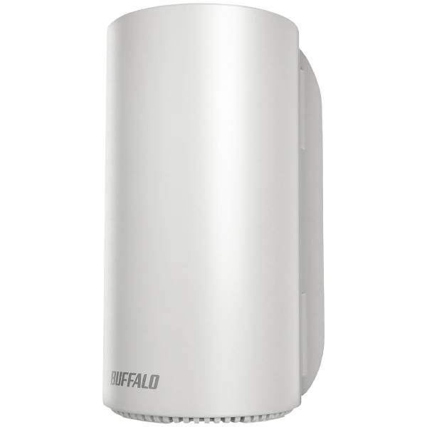 BUFFALO(バッファロー)無線LANルーター(Wi-Fiルーター) AirStation connectWRM-D2133HS[WRMD2133HS] パールホワイトグレージュデュアルバンドWi-Fiルーター ネット脅威ブロッカー プレミアム搭載 11ac 1733+400Mbps【_関東】