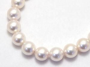 パールネックレス8.5mmあこや(和珠)本真珠【送料無料】フォーマル、パーティ、冠婚葬祭に パール 専門 auktn