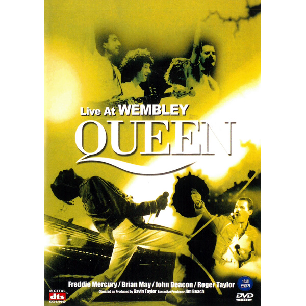 It is collecting rock band Freddie Mercury music music movie with all  champion 24 pieces of the DVD QUEEN queen queen Live at WEMBLEY live at  Wembley