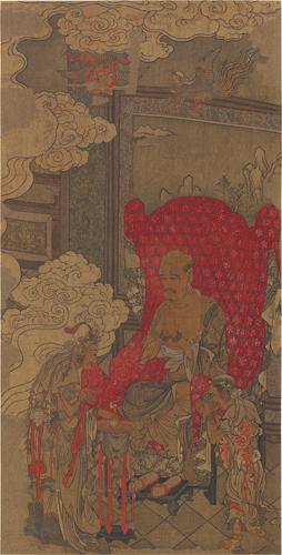 古畫阿羅漢圖