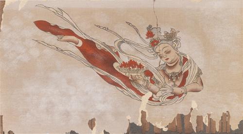 法界寺壁畫