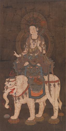 古畫普賢菩薩圖