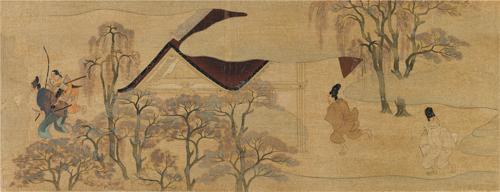 A Scene from Mitsunaga's Ban-dainagon