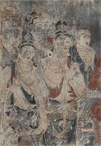 法隆寺金堂壁画部分