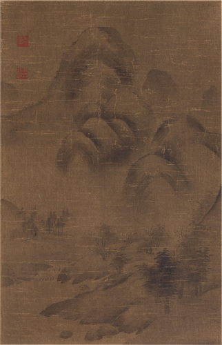 A Landscape by Yu-chien