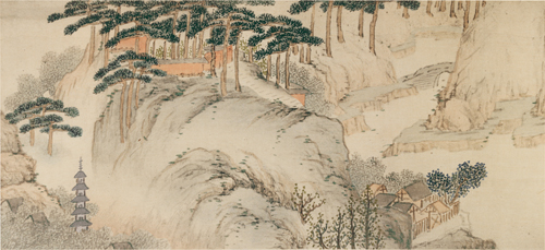 A Scene from a Landscape Scroll by ch'eng Chia-sui.