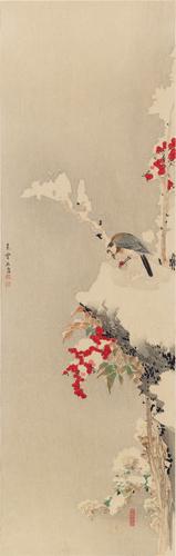 宗紫石筆 花鳥圖