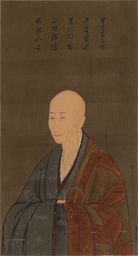 Portrait of the Priest Muso. by Shui.