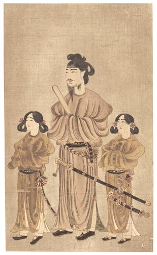 自推古時代至奈良時代 聖徳太子像