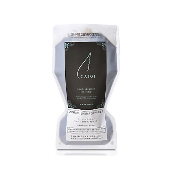 トラベル用パウチ1袋プレゼント CA101 薬用 人気海外一番 500mL 詰替用 当店限定販売 ブラックシャンプー