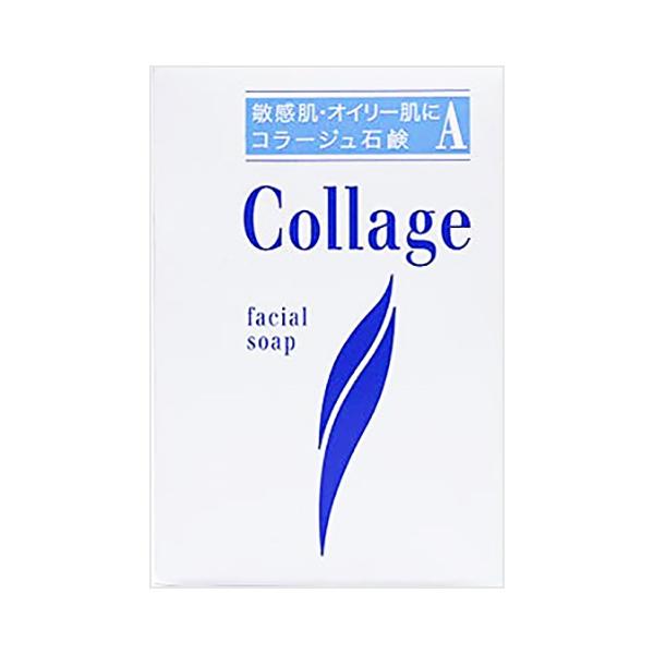 オイリー肌 ニキビのできやすい方へ 本店 コラージュ 上質 A 脂性肌用石鹸 100g