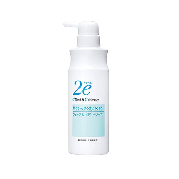 ドゥーエ 新商品 サンプル3枚プレゼント うるおいを残し 値引き しっとり洗いあげる顔 ボディー用の洗浄料です フェース 420mL 2e ボディソープ 敏感肌用洗浄料