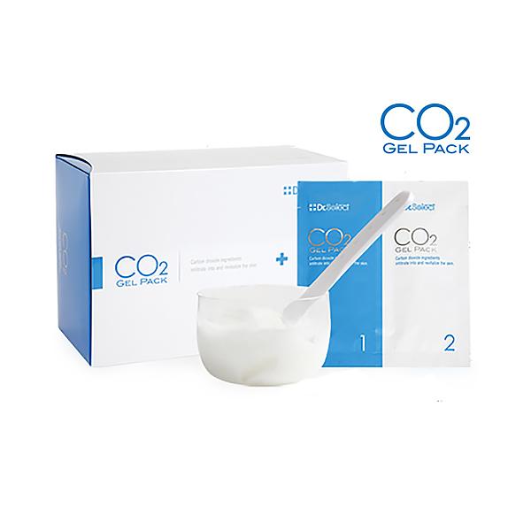 Dr.Select CO2ジェルパック 20回分 ※カップ、スパチュラ付 (炭酸パック) セレクトビューティー