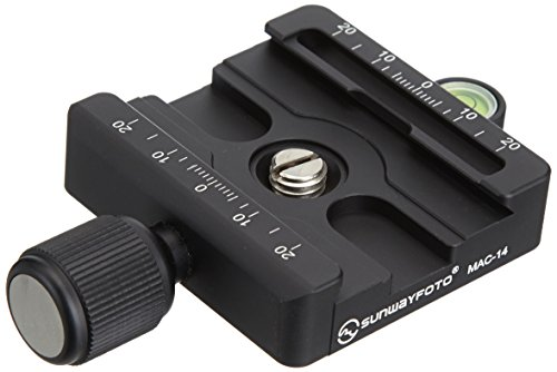 SUNWAYFOTO クイックリリースクランプ 日本メーカー新品 Manfrotto 販売 MAC-14 アルカスイス互換