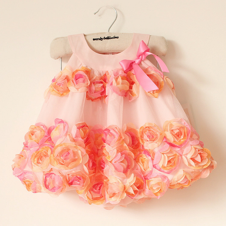a1ae44ef5e5de Children formal wear one-piece baby dress 70-80 cm / 24 month kids ...