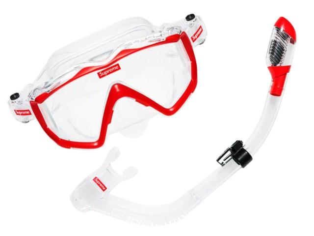 SUPREME シュプリーム クレッシー 別注 19SS 新品 スノーケルセット Cressi Snorkel Set ダイビング 水遊び ウォータースポーツ