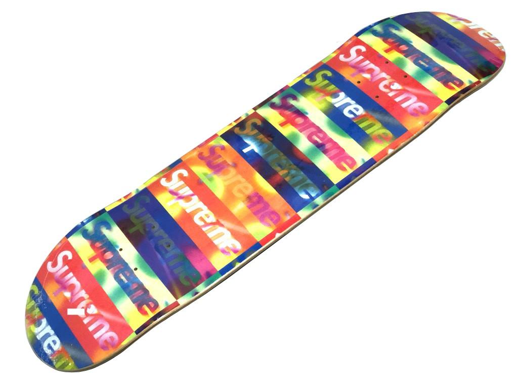 SUPREME シュプリーム 20SS 新品 イエロー Distorted Logo Skateboard ディストーテッド ロゴ スケートボード スケボー デッキ YELLOW 送料無料